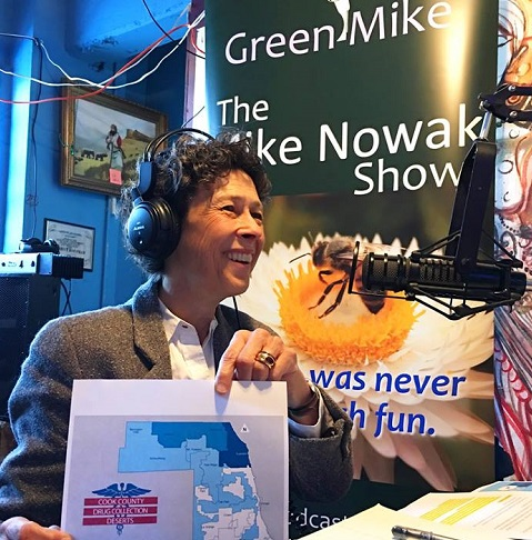 Debra Shore on The Mike Nowak Show promotes safe water
