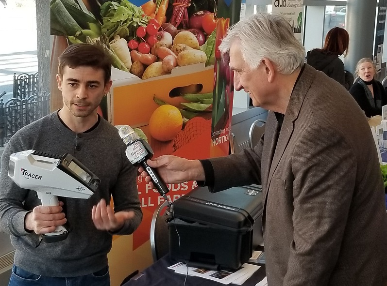Andrew Margenot and Mike Nowak at Good Food EXPO